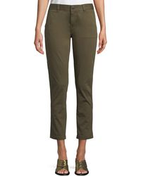 Current/Elliott - The Confidant Straight-leg Ankle Trousers - Lyst