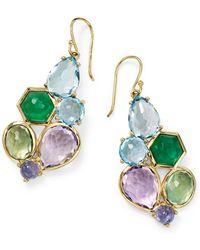 Ippolita - Rock Candy 6-stone Cluster Earrings In Hologem - Lyst