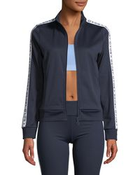 Tory Sport - Logo-banner Zip-front Track Jacket - Lyst