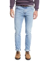 Brunello Cucinelli - Men's 5-pocket Light-wash Jeans - Lyst