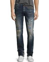 PRPS - Demon Distressed Slim-straight Jeans - Lyst
