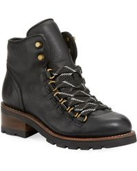 Frye - Alta Leather Hiker Boot - Lyst