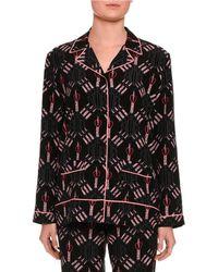 Valentino - Love Blades Pyjama Trousers - Lyst