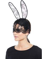 Mal Mask Bunny Du Lyst Fleur Ears Lace axA5nwIHq