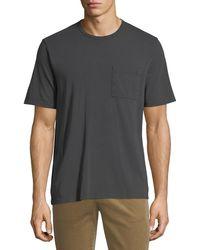 Vince - Men's Garment-dyed Pocket T-shirt - Lyst