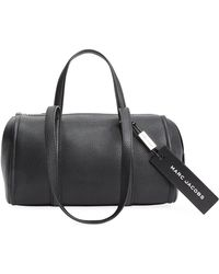 Marc Jacobs - Bauletto Leather Top Handle Bag - Lyst