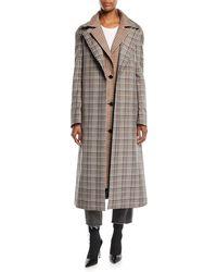 Monse - Double Collar Coat - Lyst