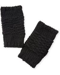 Rebecca Minkoff - Chunky Knit Arm Warmers - Lyst