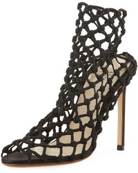Francesco Russo - Stretch Caged 105mm Bootie - Lyst