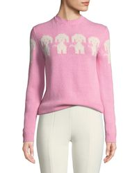 Moncler Grenoble - Dog Embroidered Sweater - Lyst