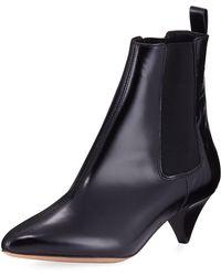Isabel Marant - Dawell Low-heel Leather Boot - Lyst