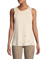 Alo Yoga - Distressed Muscle Tank - Lyst