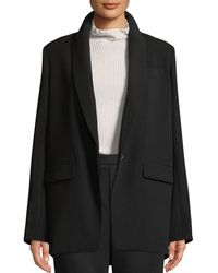 Vince Shawl-collar One-button Boyfriend Blazer