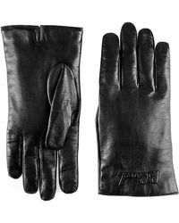Gucci - Blind For Love Embossed Nappa Lambskin Gloves - Lyst