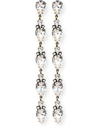 Auden Cordelia Fringe Chain Earrings PiNd5