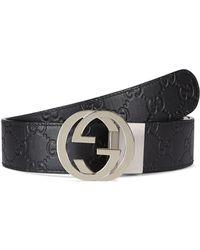 4e13153ddfd Gucci - Men s Reversible GG Belt - Lyst