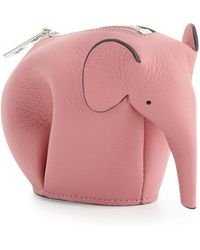 Loewe - Elephant Leather Coin Case - Lyst