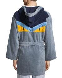 Fendi - Monster Hooded Robe - Lyst