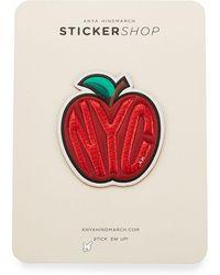 Anya Hindmarch - Big Apple Sticker For Handbag - Lyst