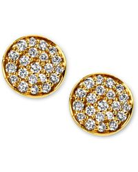 Ippolita - Stardust Mini Diamond Stud Earrings - Lyst