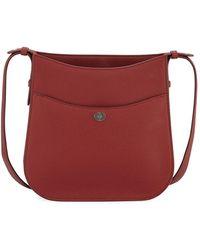 Loro Piana - Fleur Medium Leather Crossbody Bag - Lyst