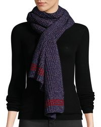 Rag & Bone - Cheryl Speckled Wool Rectangle Scarf - Lyst