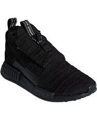 4c876fcc3e7659 Lyst - adidas Originals Nmd R1 Rubber-trimmed Primeknit Sneakers in ...