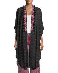 Figue - Amira Aztec-dot Kaftan-style Jacket - Lyst