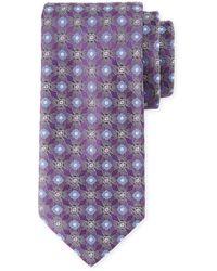 Brioni - Circle/box Silk Tie - Lyst