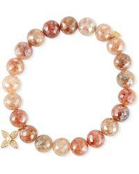Sydney Evan - 14k Strawberry & Paisley Pearl Bracelet - Lyst