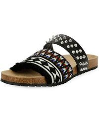 DSquared² - Spike Slide Sandal - Lyst