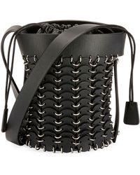 Paco Rabanne - 1401 Chain-link Mini Bucket Bag - Lyst