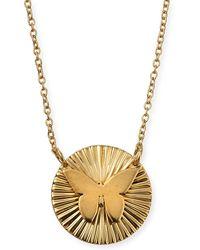 Jennifer Zeuner - Iris Mariah Mini Butterfly Pendant Necklace - Lyst