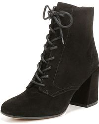 Vince - Halle Suede Lace-up Boot - Lyst