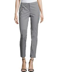 Lafayette 148 New York - Manhattan Hampton Check Trousers - Lyst