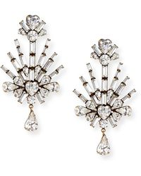 Auden - Lilith Crystal Statement Earrings - Lyst