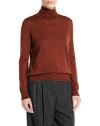 835b98702025 Lyst - Loro Piana Kimberly V-neck Cable-knit Baby Cashmere Sweater ...