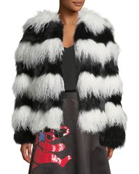 Alice + Olivia | Verity Fur Coat | Lyst
