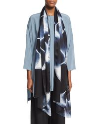 Eskandar | Hand-dyed Shibori Silk Scarf | Lyst