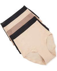 Chantelle - 5-pack Soft-stretch Full Bikini Briefs - Lyst