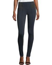 Lafayette 148 New York - Pintucked Skinny Pants - Lyst