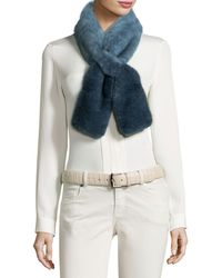 Loro Piana - Sciarpina Shaded Fur Scarf - Lyst