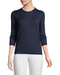 Ralph Lauren Collection - Crewneck Long-sleeve Cashmere Jersey Jumper - Lyst