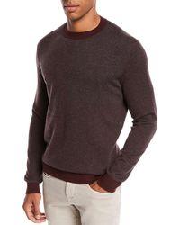 Loro Piana - Men's York Heathered Cashmere Sweater - Lyst