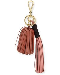 Altuzarra - Leather Tassel Key Chain/bag Charm - Lyst