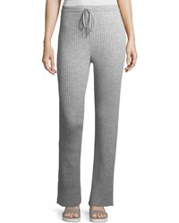 Marques'Almeida - Ribbed Knit Drawstring Pajama Trousers - Lyst