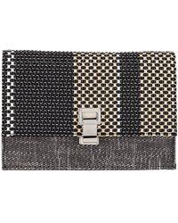 Proenza Schouler | Small Lunch Combo Fabric Shoulder Bag | Lyst