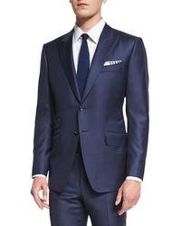 Tom Ford - O'connor Cotton-Blend Two-piece Suit - Lyst