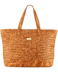 Seafolly | Carried Away Oversized Beach Bags | Lyst