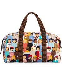 Fendi - Friends-print Diaper Bag - Lyst